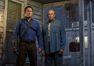 'Ash Vs Evil Dead' Turns What Seems Like A 'Jumping The Shark' Moment Into Television Brilliance