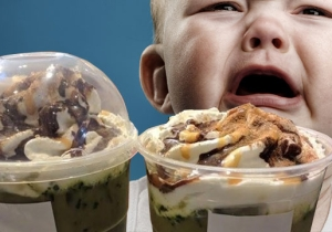 The Newst Starbucks Secret Drink Is Called 'Baby Vomit,' But You'll Probably Order It Anyway