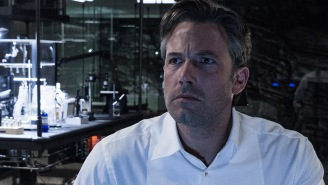 Ben Affleck isn't really that sad about 'Batman v Superman' after all