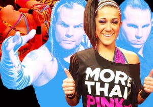 Bayley Talks 'WWE 2K17,' The Best And Worst Huggers In WWE And Being The Third Hardy Boy
