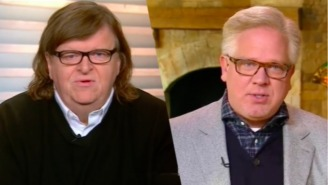Michael Moore And Glenn Beck Define Their Perspectives On This Election's Dire Nature On 'Meet The Press'