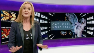 Samantha Bee Gleefully Rips On Catholic Hospitals Over How They Drop The Ball On Women's Health