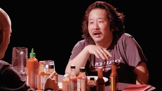 Things Go Sideways For Comedian Bobby Lee When He Takes 'The Hot Ones Challenge'