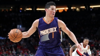 Devin Booker's 34-Point Preseason Performance Hints At A Surprising Kind Of Stardom