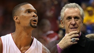 The Heat Will Reportedly Waive Chris Bosh So He Can't Be Picked Up For The Playoffs