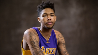 Brandon Ingram Took Kobe Bryant's Lakers Locker Because 'It's A Message'