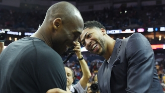 Kobe Bryant's Awesome Analogy About Teeth Is Inspiring Anthony Davis To Be A Better Leader