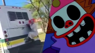Even Public Transportation Isn't Safe From America's Creepy Clown Epidemic