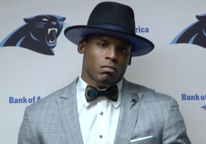Cam Newton Really Got Benched For The First Drive Of A Game Because He Didn't Wear A Tie