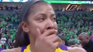 Candace Parker Emotionally Dedicated The WNBA Championship To Pat Summitt