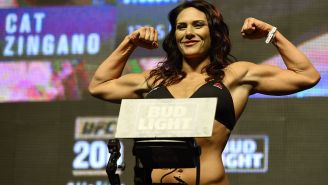 UFC Fighter Cat Zingano Is Calling Out WWE Women's Champion Sasha Banks, For Some Reason