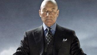 Professor X looks like death warmed over in 'Logan'
