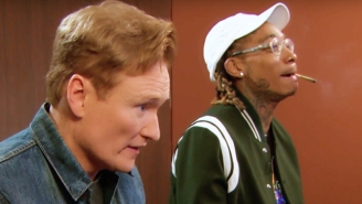 Wiz Khalifa Gifts Conan A Blunt Before They Dive Into 'Gears of War 4' On The Latest Clueless Gamer