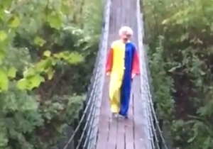 Is This Video Of A Creepy, Knife-Wielding Clown Chasing Joggers Real Or Just Another Terrifying Hoax?
