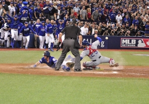 The Blue Jays Won The ALDS Thanks To Josh Donaldson's Mad Dash Home On A Botched Double Play