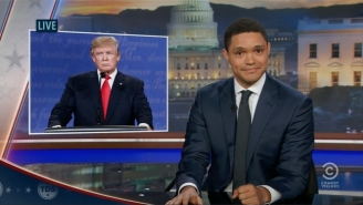 'The Daily Show' Turns Trump's Words Against Him Over His Denial Of Being Putin's Puppet