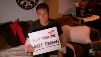 Jimmy Kimmel Continues His Feud With Matt Damon And His Questionable Love Of Broadway