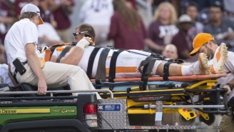 A Tennessee Lineman Was Kicked Off The Team Days After Suffering A Head Injury