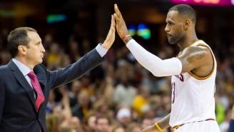 LeBron Passive-Aggressively Responds To David Blatt Receiving A Championship Ring