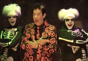 The David S. Pumpkins Halloween Costume From 'SNL' Is Selling Out Everywhere