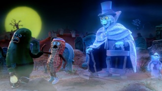 Disney and the makers of 'Robot Chicken' teamed up for Haunted Mansion stop-motion shorts