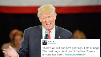 Twitter Imagined Tremendous Books Through A Donald Trump Filter With #TrumpBookReport