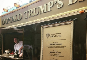 The Donald Trump BS Food Truck Serves Up As Much Baloney As He Does