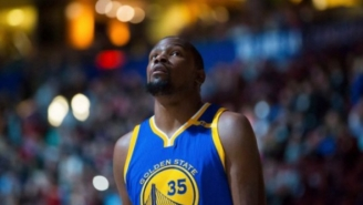 The Basketball World Got Its First Look At Kevin Durant As A Warrior