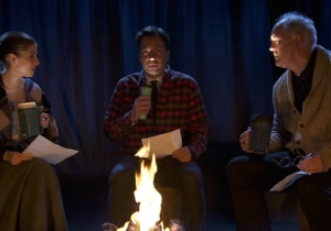 Anna Kendrick And John Lithgow Share 'Kids Campfire' Stories On 'Fallon' Designed To Scare You Silly