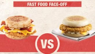 It's Jack In The Box Vs. McDonald's In The Breakfast Sandwich Showdown
