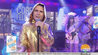Corey Feldman Made His Triumphant Return To The 'Today' Show To 'Take A Stand'