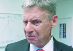 Watch Gary Johnson Completely Lose It When A British Journalist Questions His Tax Policy