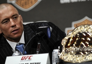With Bisping Fight Off, Dana White Claims GSP Wants A Welterweight Title Shot For His Comeback