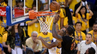 Even Andre Iguodala Can't Stop Talking About How 'Amazing' LeBron's Game 7 Block Was