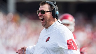 An Arkansas Professor Was Arrested For Drunkenly Screaming That Bret Bielema Should Be Fired