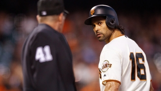 Giants Outfielder Angel Pagan Dropped A Fan And The Crowd Went Crazy
