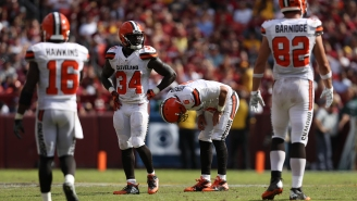 An NFL Fan Sums Up That Horrible Browns Fumble Call: 'That Don't Make No Sense At All'