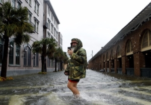 Hurricane Matthew Makes Landfall in South Carolina And Threatens Serious Flooding Potential