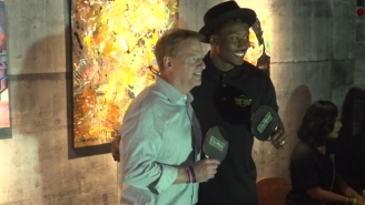 Roger Goodell Played Brandon Marshall In Ping-Pong For Some Reason And Won