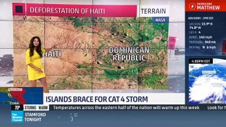 The Weather Channel Apologizes For A Meteorologist's Claim About 'Children Eating Trees' In Haiti