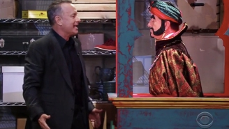 Tom Hanks Reunites With Zoltar And Asks Him To Make Him 30 Years Old Again