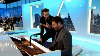 Jason Sudeikis Impersonating Harry Connick, Jr. While Doing A Duet With Harry Connick, Jr. Is Delightful