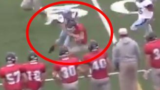 This Female High School Kicker Lit Up A Returner After She Sniffed Out A Trick Play Like A Pro