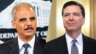 Former AG Eric Holder And Former DOJ Officials Criticize FBI Director James Comey In An Open Letter