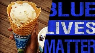 Blue Lives Matter Is Boycotting Ben & Jerry's