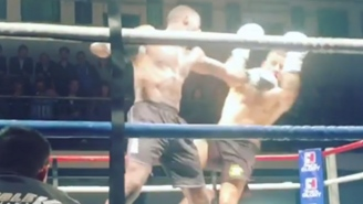 Idris Elba Had A Very Real Kickboxing Match In London And We Have The Footage