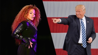 Here's Donald Trump Calling Hillary Clinton 'Nasty' Over Janet Jackson's Iconic Song