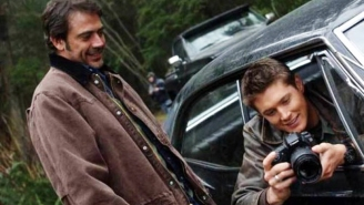 Jensen Ackles Made The Perfect 'Walking Dead' Joke To His 'Supernatural' Dad, Jeffrey Dean Morgan