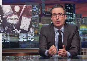 John Oliver Tears Into Pharma Groups Over America's Staggeringly Widespread Opioid Crisis
