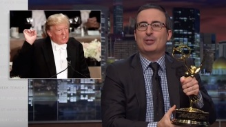 John Oliver Offers Donald Trump His Emmy If He Will Accept Election Results